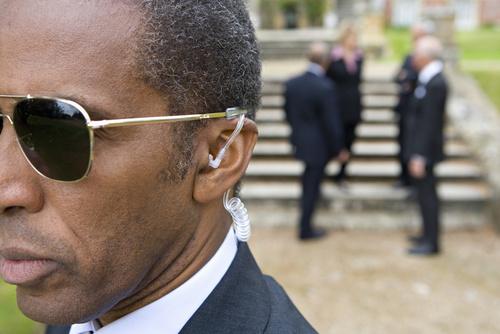 Garde du corps personnalités hommes politiques Sénégal Dakar