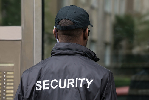 Gardien de sécurité à Dakar