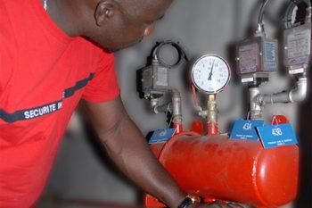 Agent de sécurité incendie Sénégal - 3S